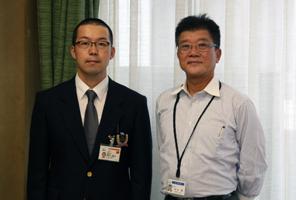 海外青年協力隊市長表敬訪問