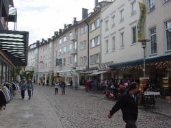 フリードリッヒスハーフェン市の街並み