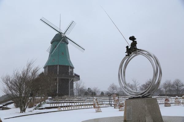 画像:雪風車