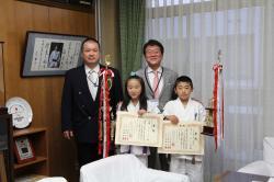 画像:全日本ジュニア空手道選手権