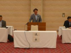 画像:常磐線輸送力増強期成同盟会総会