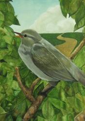 『平成26年度「市の木・市の花・市の鳥」絵画作品中学校の部最優秀賞』の画像