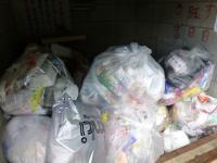 『プラスチックごみ袋』の画像