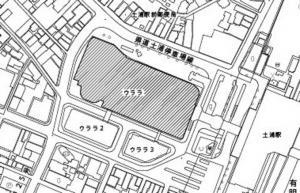 『JR土浦駅前のウララが立地する区域(土浦市大和町1番)』の画像