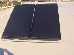 荒川沖消防署太陽熱温水器