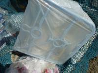 プラスチック製の室内物干し