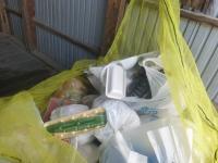 『袋の縛り不十分』の画像