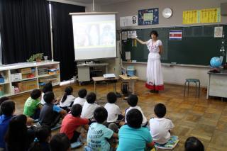 国際理解教室(コスタリカ)