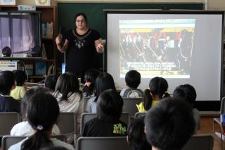 『国際理解教室(ブラジル)』の画像