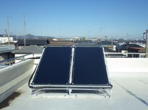 『神立消防署太陽熱温水器』の画像