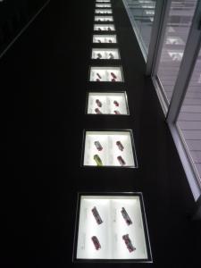 『ミニ消防車床下展示』の画像