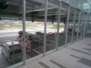 『テラスから消防車の眺め』の画像