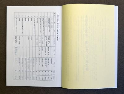『『土浦市史資料目録第26集(見開き)』の画像』の画像