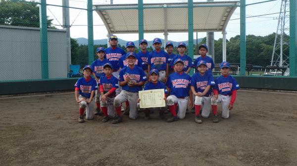 『H28野球スポ少春季大会 中高津ファイターズ』の画像