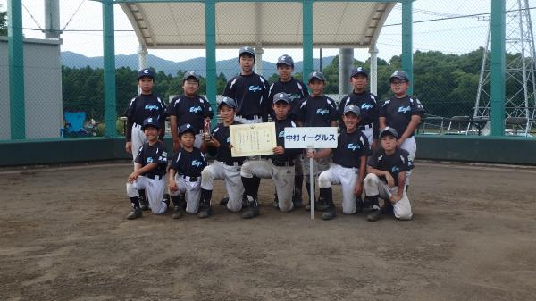 『H28野球スポ少春季大会 中村イーグルス』の画像