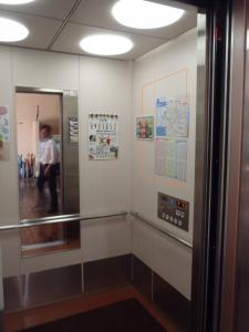 亀城プラザエレベーター2