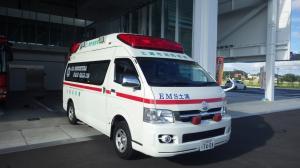 『救急車トップ 写真』の画像