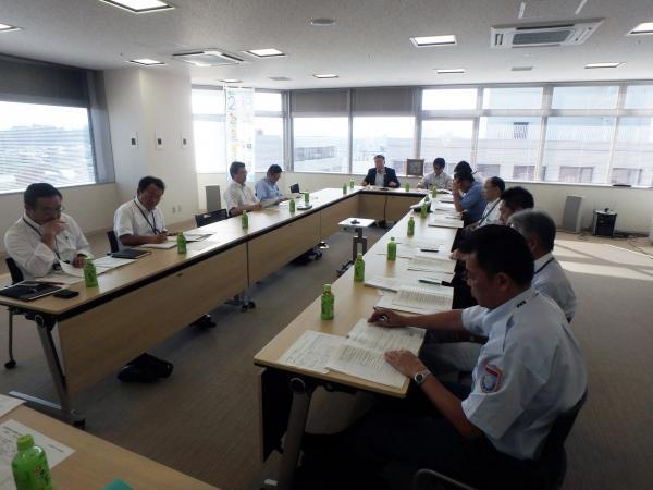『第1回輸送警備専門委員会』の画像