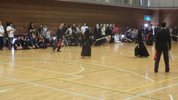 『H28スポ少剣道小学生試合風景』の画像