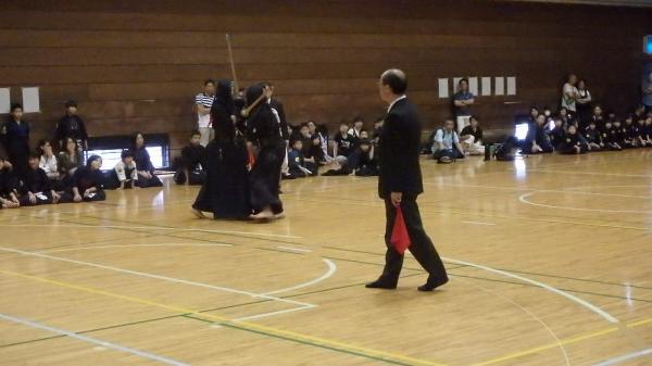 『H28スポ少剣道中学生試合風景』の画像
