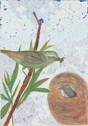 『『H28年度「市の木・花・鳥」絵画作品コンクール 最優秀賞 小学校低学年の部』の画像』の画像
