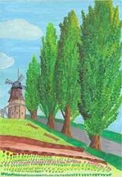 『H28年度「市の木・花・鳥」絵画作品コンクール 最優秀賞 小学校高学年の部』の画像