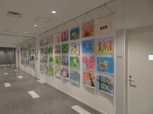 『H28年度「市の木・花・鳥」絵画作品コンクール 全体展2』の画像