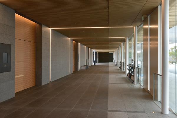 新斎場エントランスホール