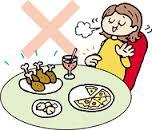 『食べ残しません』の画像