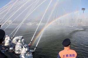 『H29.1.7消防出初2』の画像