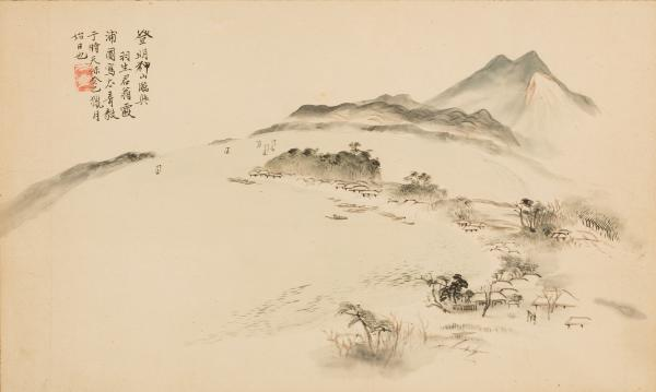 『霞ヶ浦真景図(個人所蔵)』の画像