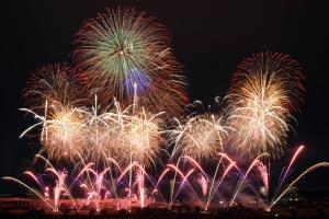 『土浦の花火』の画像
