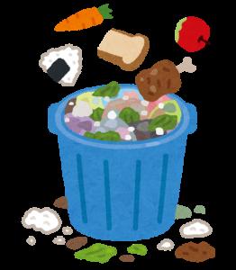 『食品ロスのイラスト』の画像