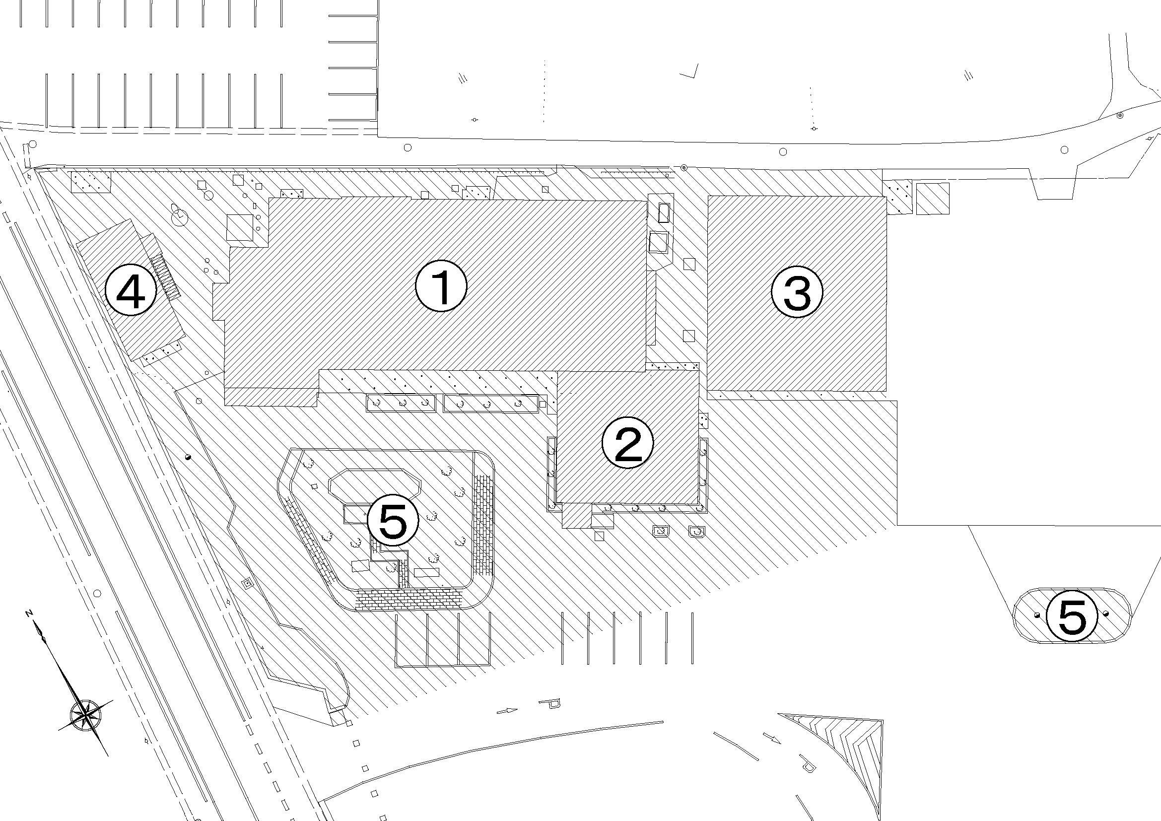 『旧新治庁舎解体図面』の画像