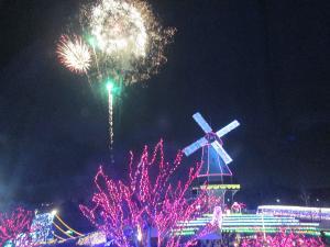 『H29点灯式花火(2)』の画像