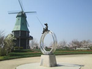 『H30.3.29ちゅうりっぷ(3)風車・少年』の画像