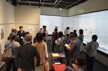 『ミニ講座(4月1日)展示室3にて』の画像