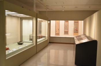 『ミニ展示「すずめ、大好き」展示風景1』の画像