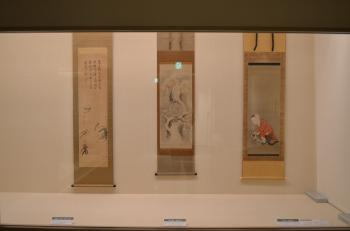 『ミニ展示「すずめ、大好き」展示風景2』の画像