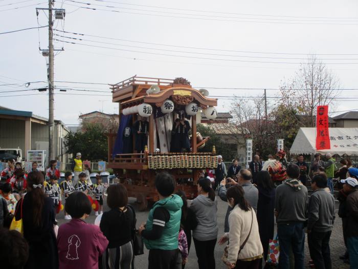 『荒川沖西区の山車』の画像