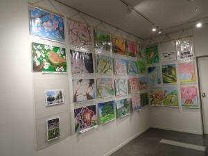 『H30年度「市の木・花・鳥」絵画作品コンクール 絵画展1』の画像