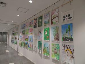 『H30年度「市の木・花・鳥」絵画作品コンクール 絵画展3』の画像