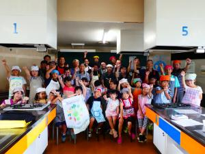 親子料理教室 集合写真