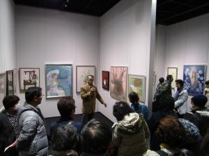 『土浦市展ギャラリートーク1』の画像