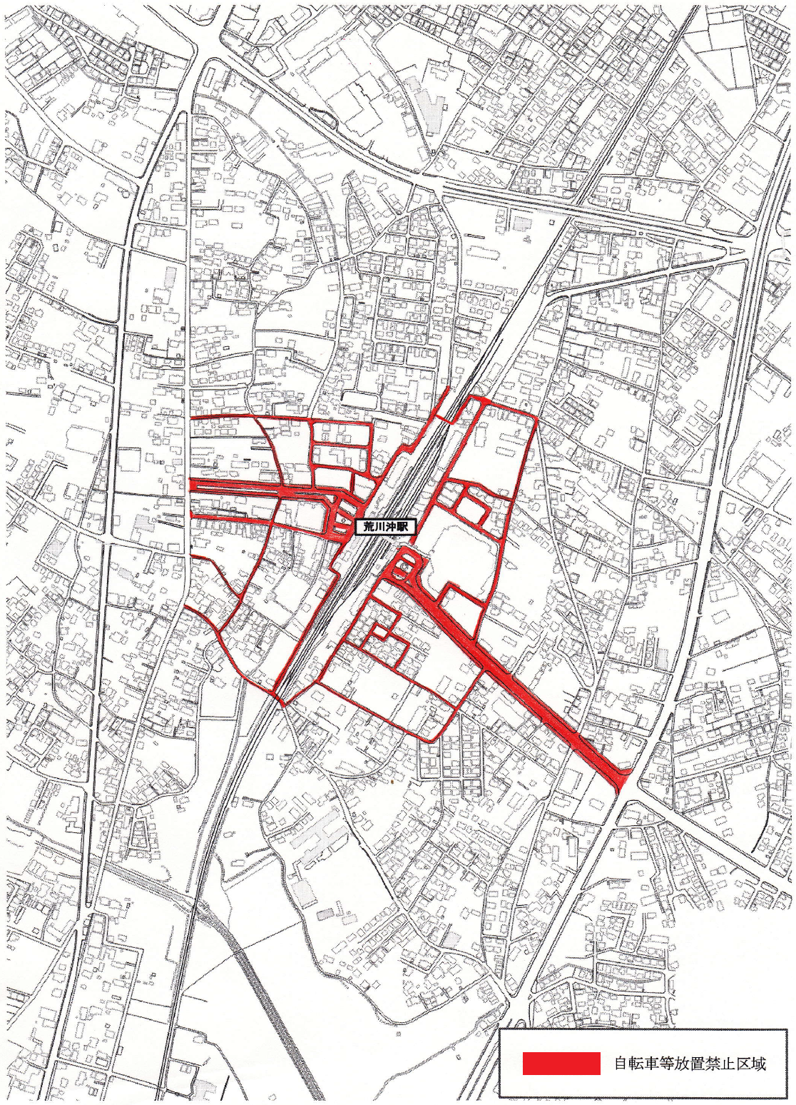 『『荒川沖駅駐車禁止区域』の画像』の画像
