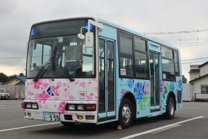 『千代田神立ライン車両左側面』の画像