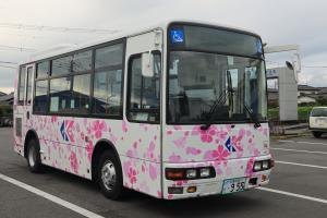 千代田神立ライン車両右側面