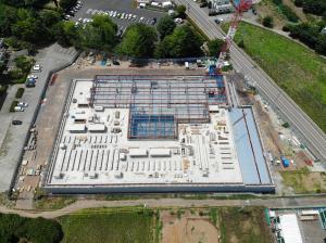 『『新学校給食センター工事の様子6月』の画像』の画像