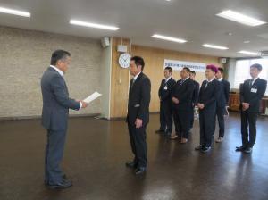 『茨城県GAP交付式』の画像