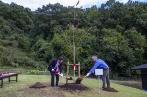 10周年記念事業(6)記念植樹(1)